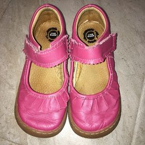 Livie and Luca Pink Mary Jane Leather Shoes